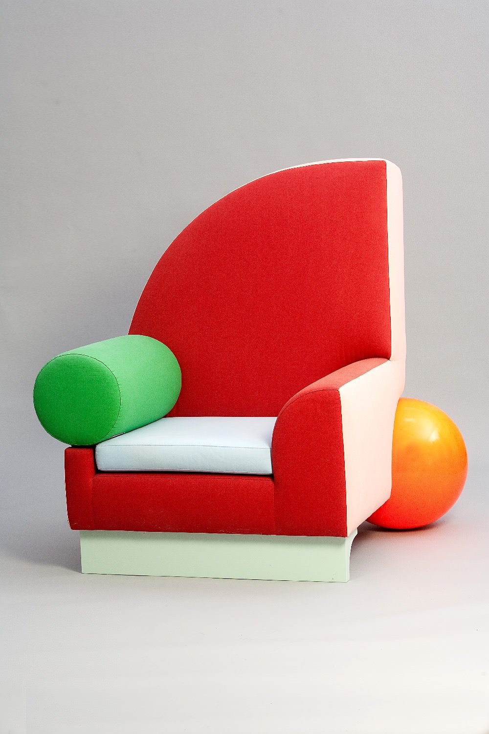 TUNICA - Memphis group for Ettore Sottsass Sofa  585eri