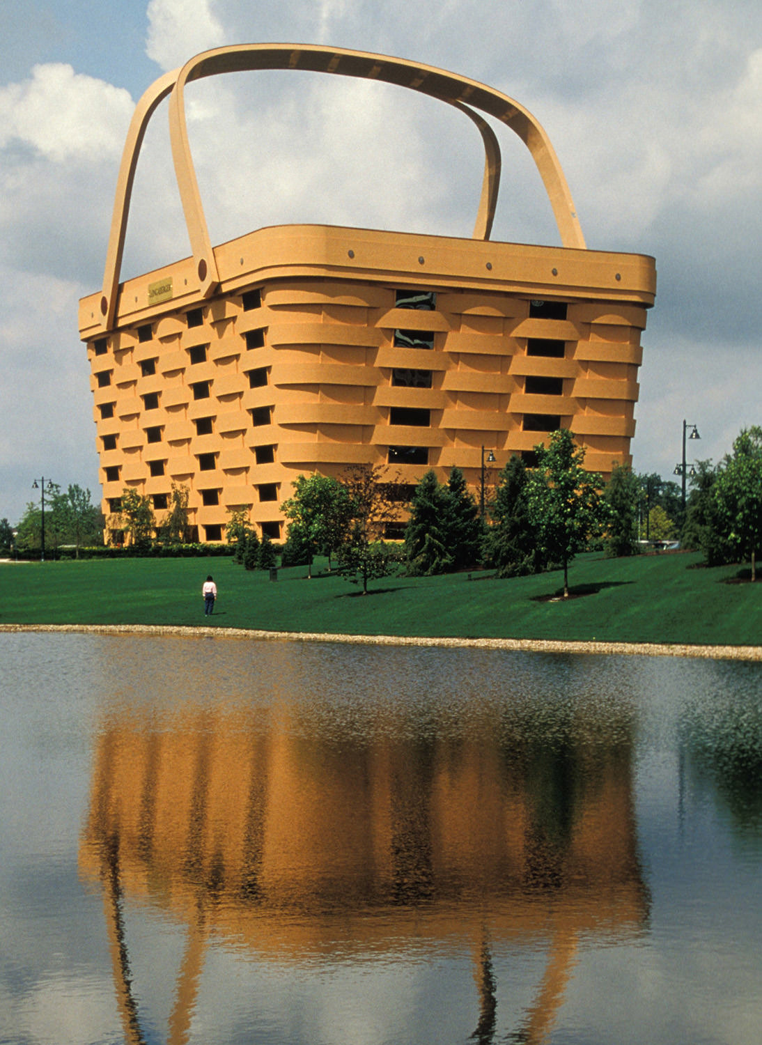 The Longaberger Company headquarters in Newark, Ohio