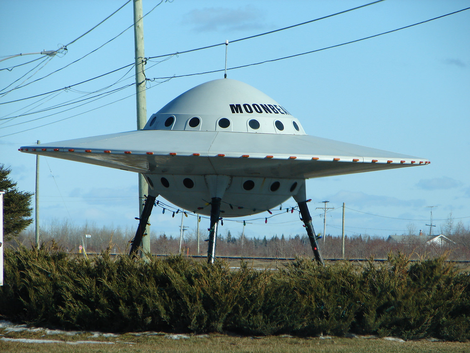Moonbeam UFO, in Moonbeam, Ontario, Canada